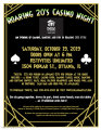 Roaring 20's CASINO NIGHT - Habitat for Humanity of LaSalle, Bureau & Putnam Counties
