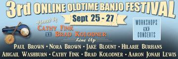 3rd Online Old Time Banjo Festival Community Music, Inc.
