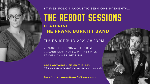 The Reboot Sessions ft The Frank Burkitt Band