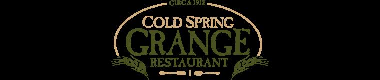 Cold Spring Grange Restaurant