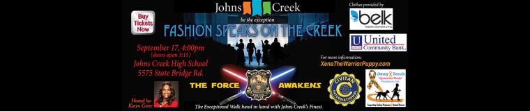 Jonny and Xena Spread the Words Foundation & Johns Creek Civitans
