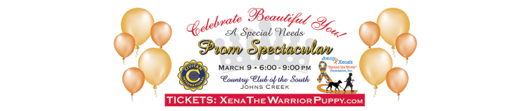Jonny and Xena Spread the Words Foundation & Johns Creek Civitans