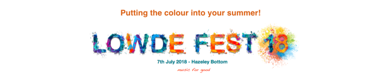 Lowde Fest 18 in aid of The Lowde Music Trust (reg: 1166852)