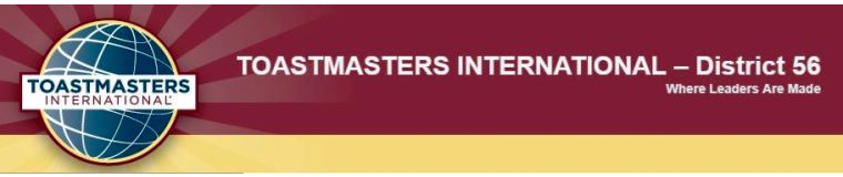 Toastmasters International District 56
