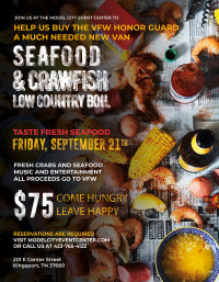 Seafood & Crawfish Low Country Boil for American Legion Hammond Post Honor Guard image