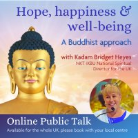 HOPE, HAPPINESS & WELL-BEING  - A Buddhist Approach image
