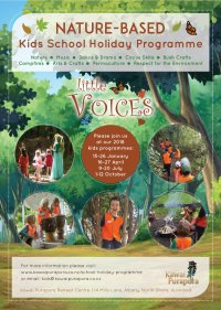 'Little Voices' School Holiday Programme - April 2018 image