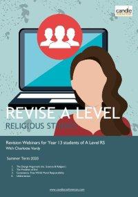 Revise A Level Religious Studies Webinar Series image