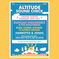 Altitude Soundcheck image