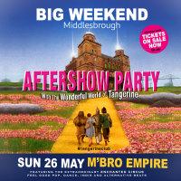 Big Weekend Tangerine Aftershow Party image