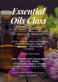 "Twilight Talks ""Using Essential Oils for Emotional and Physical Wellbeing"" image"