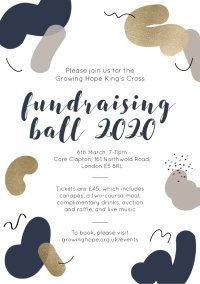 The Growing Hope King's Cross fundraising ball 2020 image