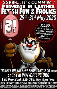 The 21st Fetish, Fun and Frolics Rally 2020 image