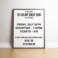 Mal Hall presents The Gaslamp Comedy Show image