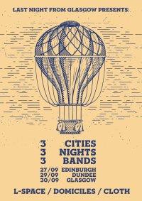 Three Bands, Three Cities, Three Nights. image