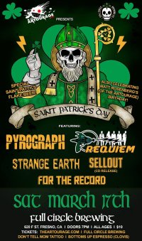 The Artourage Presents: Saint Patrick's Day w/ Requiem, Pyrograph, + more! image