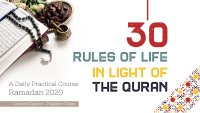 Course: 30 Rules of Life in light of the Quran image