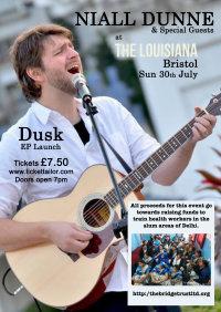 "Niall Dunne 'DUSK"" EP launch & fund raiser image"