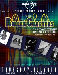 The Roller Coasters ft Bay City Roller Stuart 'Woody' Wood image