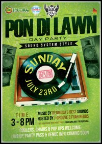 """Pon Di Lawn """"Sound System Sytle"""" Day Party image"""