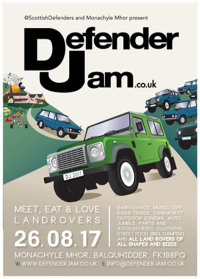 Defender Jam at Monachyle Mhor image