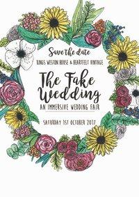 The Fake Wedding (Immersive wedding fair) image