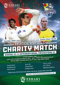 Huddersfield Charity Cricket Pre-Match Lunch image