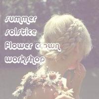 Solstice Flower Crowns image