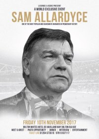 Exclusive Evening with Sam Allardyce image