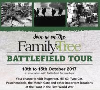 Family Tree Battlefield Tour, Ypres, Belgium image