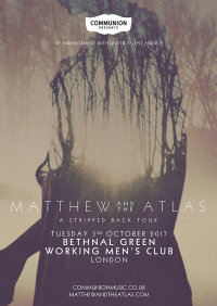 Communion present: MATTHEW AND THE ATLAS image