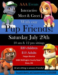 Pup Meet & Greet - Elora image