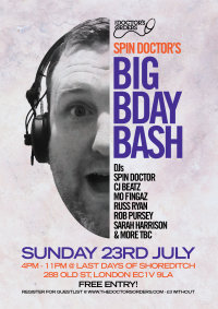 Spin Doctor's - Big Birthday Bash image