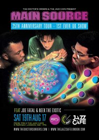 Main Source - 25th Anniversary Tour – 1st Ever UK Show image