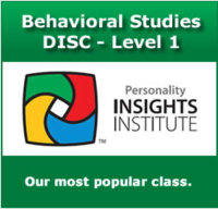 Level #1 DISC Certification Training ~ 2 Day Train the Trainer image
