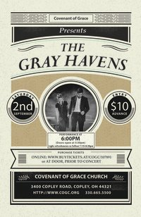 An Evening with The Gray Havens image
