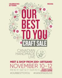 Regina Our Best To You Art & Craft Sale image