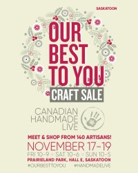Saskatoon Our Best To You Art & Craft Sale image