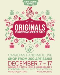 Originals Ottawa Christmas Craft Sale image