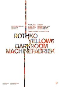 CHAMPION VERSION presents Edition 1: Rothko, Yellow6, Darkroom and Machinefabriek image