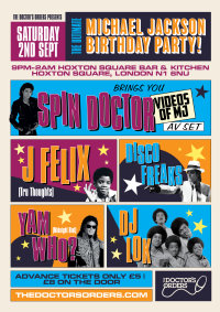 Ultimate Michael Jackson Birthday Party image