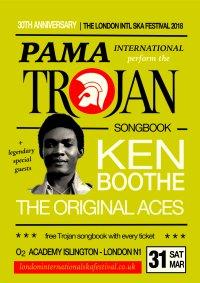 Pama Intl perform Trojan songbook w/ Ken Boothe & more image