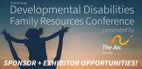 2017 Developmental Disabilities Family Conference Sponsorship + Exhibitor Registration image