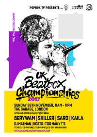 2017 UK Beatbox Championships image