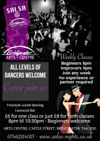 4 week salsa course booking (only 3 weeks left) image