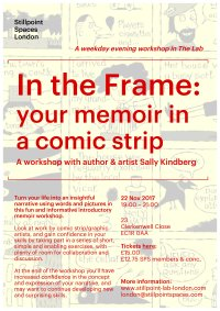 In the Frame: Your memoir in a comic strip image