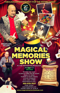 """MAGICAL MEMORIES SHOW """" Keep the Magic Alive in Miami"""". image"""