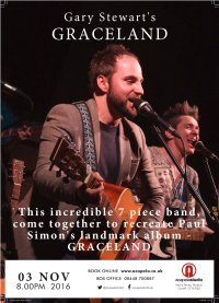 "Gary Stewart's - Graceland ( recreating Paul Simon's landmark ""Graceland"" album) image"