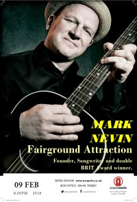 Mark Nevin - Fairground Attraction Founder, Songwriter and double BRIT Award winner. image