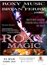 Roxy Magic - A tribute to Roxy Music and Bryan Ferry image